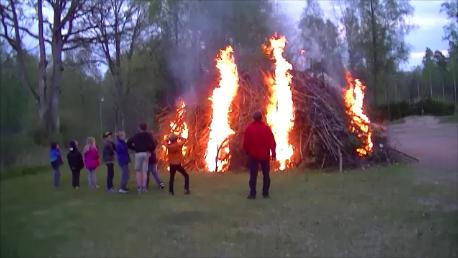 Valborgsmässoafton 2014